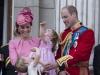 Ce culoare indrazneata! Kate Middleton ca o bomboana fondanta, la aniversarea Reginei - FOTO