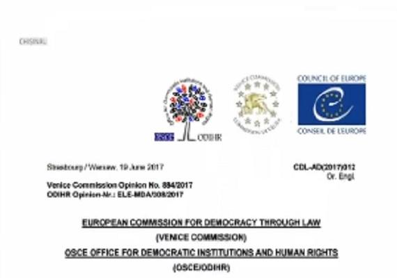 Schimbarea sistemului electoral nu este recomandabila pentru RM, spune clar Comisia de la Venetia in opinia sa publicata integral - VIDEO