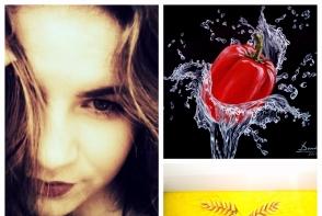 Pictura este pasiunea ei! Cunoaste-o pe Dumitrita Gurau, tanara de 18 ani care face lucrari fantastice - FOTO