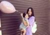 De aproape 7 luni este mama unei fetite minunate care ii seamana leit. Elena Bivol nu isi mai incape in piele de fericire - VIDEO