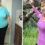 Aceasta femeie de 63 de ani a reusit sa slabeasca 110 kilograme cu o reteta simpla