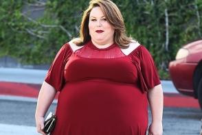 Are peste 100 kg si este milionara. Cum arata iubitul lui Chrissy Metz - FOTO