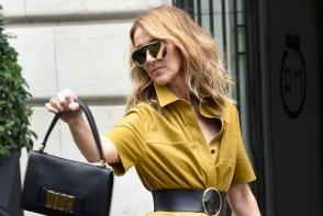Celine Dion a fost surprinsa pe balcon, in cele mai hot pozitii. Vedeta de 49 de ani este complet dezinhibata - FOTO