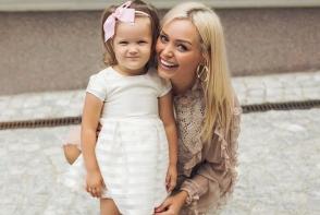 Cornelia Stefanet are o fiica de toata frumusetea! Cat de mare a crescut Alexandra - FOTO