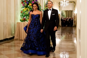 Michelle Obama, intr-o tinuta extrem de mulata! Vezi cat de sexy a venit la un eveniment - FOTO