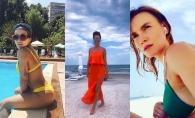 Proba costumului de baie cu Natalia Barbu, Nicoleta Nuca si  Olia Tira! Cine merita nota 10?