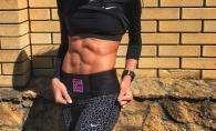 Oricine ar vrea corpul ei! O tanara din Rusia ajuta femeile din intreaga lume sa obtina patratele pe abdomen- FOTO