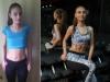 Alina Garanovschi a pariat cu iubitul ei si a castigat! Cum a reusit moldoveanca o transformare aproape incredibila, in doar 7 saptamani - FOTO