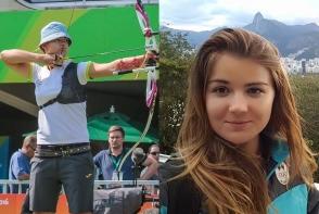 Alexandra Mirca are o pasiune nu tocmai populara printre femeile de la noi. Ea este campioana Europei la tir cu arcul - FOTO