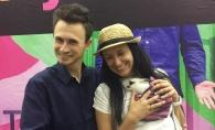 Nata Albot si Andrei Bolocan, mai indragostiti ca niciodata. Jurnalistul o saruta in tara iubirii - FOTO