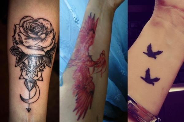 Vrei sa-ti faci un tatuaj, dar nu stii ce sa alegi? Iata pentru ce tatuaje opteaza moldovencile - GALERIE FOTO
