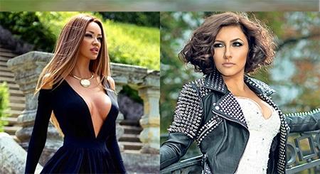 Asa da surpriza! Andra si Bianca Dragusanu s-au imbracat la fel. Cui ii sta mai bine? - FOTO