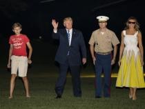 Nu o scapa din ochi! Pentru ce a fost criticata de aceasta data Melania Trump - FOTO