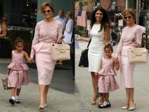 Asa mama, asa fiica! Fetita lui Jennifer Lopez ii seamana  din ce in ce mai mult - FOTO