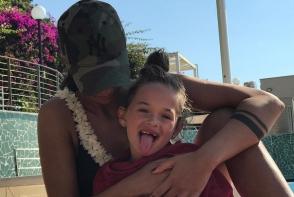 Mesaj trist ce a emotionat fanii la maxim. Vezi ce i-a transmis Antonia, fiicei sale Maya, chiar de ziua ei de nastere - FOTO