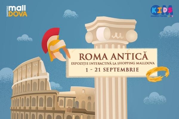 Invatam istoria Romei Antice la Shopping MallDova