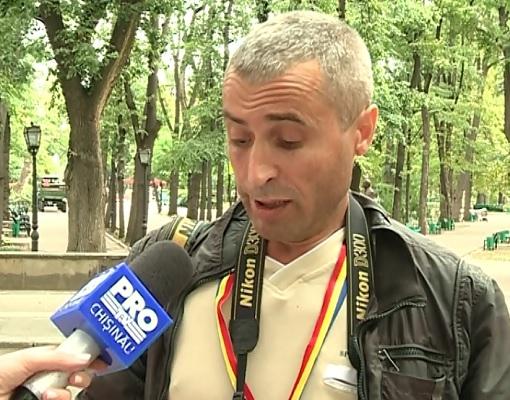 Fotoreporterul Constantin Grigorita - teroarea lui Dodon? Ziaristul sustine ca, din nou, nu a fost lasat sa participe la briefingul presedintelui - VIDEO