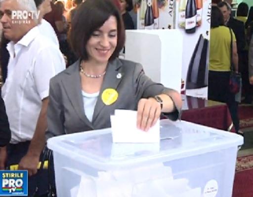 Fara surprize la congresul PAS. Maia Sandu, unicul candidat la sefia partidului, realeasa in functia prin vot secret - VIDEO