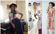 Moldoveanca ce vrea sa cucereasca Hollywoodul! Modelul creat de Maria Moscalu face concurenta rochiei lui Celin Dion - VIDEO