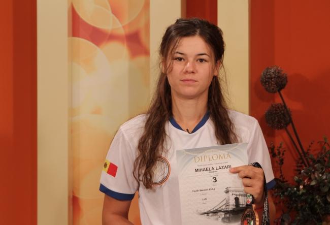 E a 3-a din lume la un campionat international! Mihaela Lazar a povestit despre aceasta frumoasa performanta - VIDEO