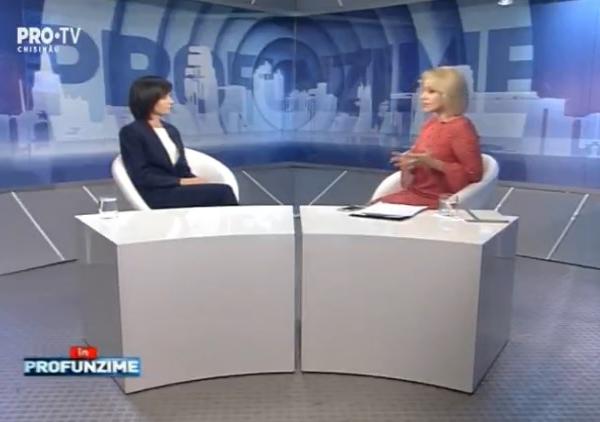 Emisiunea InPROfunzime cu Lorena Bogza. Invitat: Maia Sandu, Lider PAS