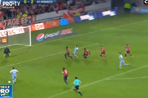 Radamel Falcao a reusit dubla in victoria lui Monaco in meciul cu Lille. Atacantul columbian a ajuns la 11 goluri in doar 7 meciuri - VIDEO