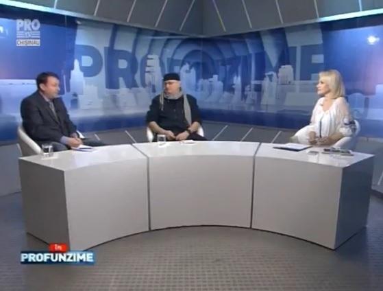 Emisiunea InPROfunzime cu Lorena Bogza. Invitat: Igor Munteanu si Vasile Botnaru