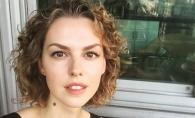Leanka Grau, sexy la Chisinau! Cum s-a lasat fotografiata fiica actorului Gheorghe Grau - FOTO