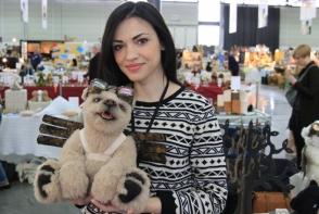 Moldoveanca Irina Zlobin a castigat un concurs international, la 2 categorii odata. Ursuletii confectionati de ea au fost cei mai apreciati - FOTO