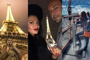 In aceasta toamna, vedetele de la noi sunt mai romantice ca oricand! Paris este cea mai populara destinatie in aceasta luna - FOTO