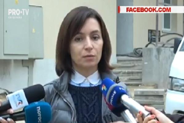 """Maia Sandu: """"Plahotniuc ia decizii in numele Guvernului, Plahotniuc ia decizii in numele Justitiei."""" Liderul PAS s-a prezentat din nou la procuratura in calitate de martor - VIDEO"""