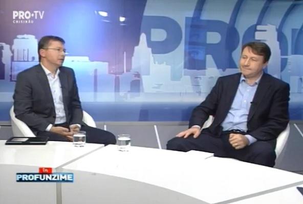 Emisiunea InPROfunzime cu Lorena Bogza. Invitat: Igor Munteanu si Veaceslav Negruta