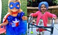 Cele mai cool si nastrusnice costume de Halloween, purtate de copiii vedetelor. Iata cum s-au pornit la colindat - FOTO