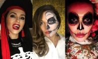 Cele mai spectaculoase si ingrozitoare costume de Halloween! Uite cum s-au deghizat Tany Vander, Olia Tira si alte vedete - FOTO
