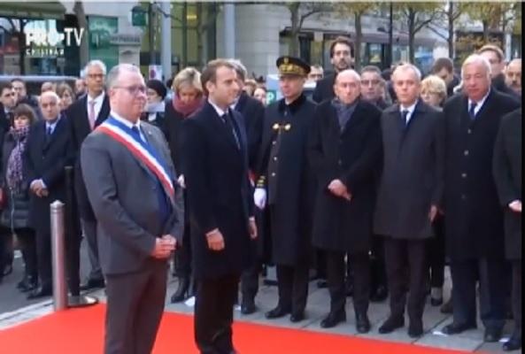 Doi ani de la atacurile sangeroase de la Paris, unde sute de oameni au murit dupa ce au fost ucisi de o grupare terorista. Mai multi oficiali au venit la ceremonia de comemorare - VIDEO