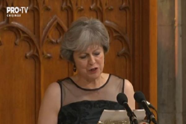 Premierul britanic Theresa May a criticat dur actiunile Rusiei, care, in opinia sa, ameninta ordinea internationala - VIDEO