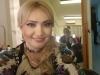 Fetita Adrianei Ochisanu este absolut adorabila in ie si batic. Vezi cat de dragalasa este Mihaela - FOTO