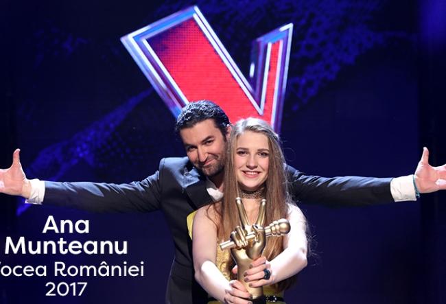 """Ana Munteanu, prima moldoveanca care a adus acasa trofeul """"Vocea Romaniei""""! Vezi care sunt planurile de viitor ale interpretei, dupa aceasta experienta impresionanta - VIDEO"""