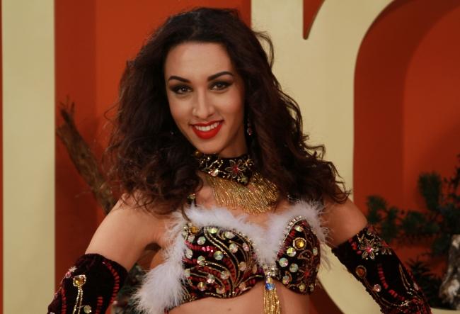 O dedicatie speciala pentru O Seara Perfecta, inainte de Craciun! Vezi ce moment spectaculos a creat dansatoarea Natalia Duminica - VIDEO