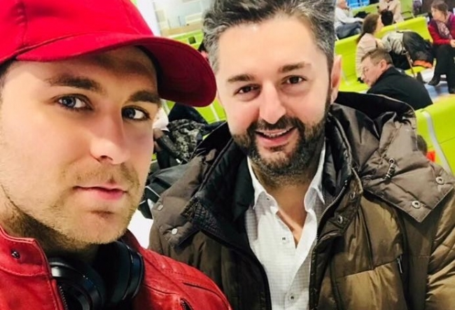 Ionel Istrati si Adrian Ursu, in drum spre taramul american! Iata emotiile artistilor, chiar inainte de plecare - VIDEO