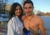 Andrei Nistreanu si Tatiana Spinu, foarte curajosi! De Boboteaza, ei s-au scufundat in apa rece ca gheata - VIDEO
