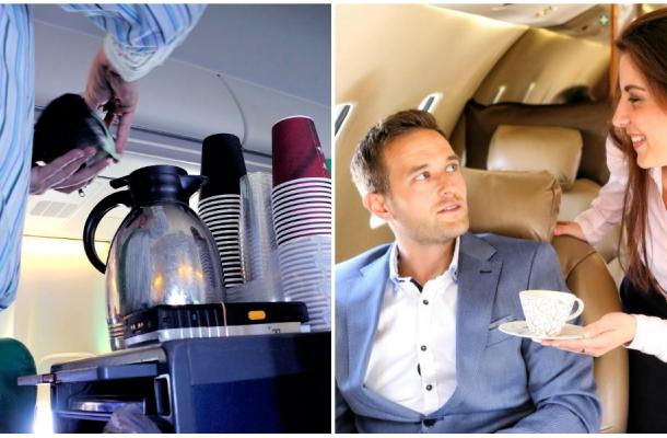 """Avertismentul unei stewardese: """"Nu beti cafeaua care se face in avion"""". Iata care este motivul"""