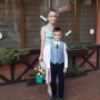 "Baietelul fashion stilistei Xenia Bugneac merge astazi in clasa I: ""Cu greu mi-am stapanit lacrimile"" - FOTO"