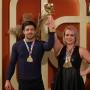 De la hobby la performanta. Cristina Costov s-a intors cu 3 medalii de aur de la Campionatul Mondial de Powerlifting - VIDEO